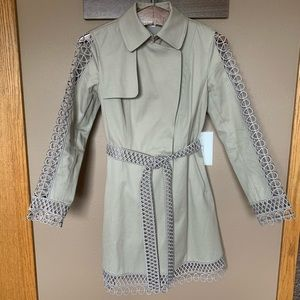 Elie Tahari trench coat